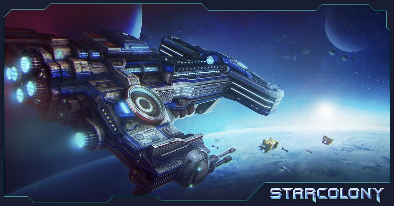 Космическая ММО стратегия в браузере - StarColony