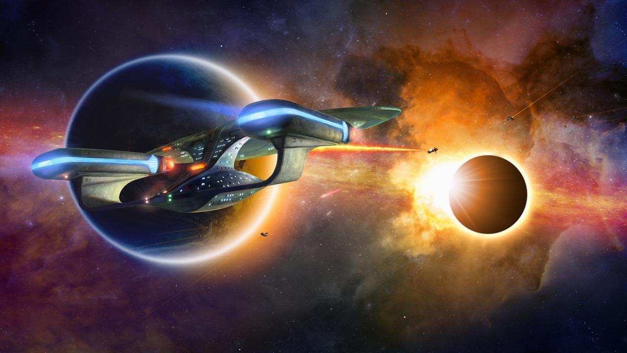 Браузерная стратегия про космос по известной киновселенной - Star track