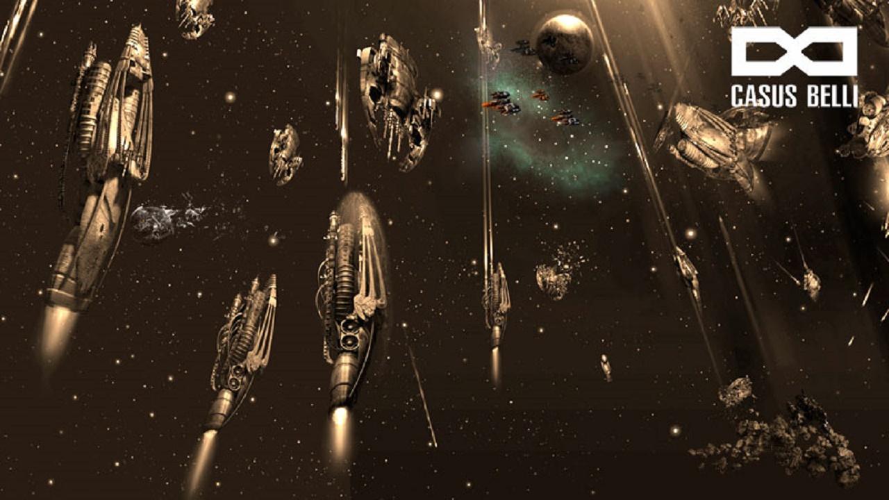 Браузерная RPG про колонизацию космоса - Casus Belli