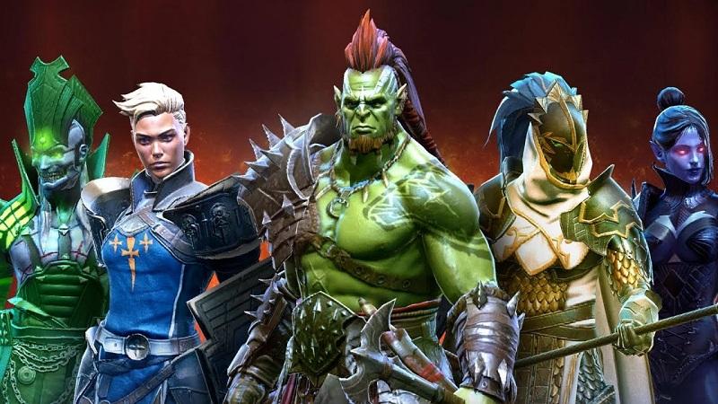 Герои в Raid: Shaodw Legends